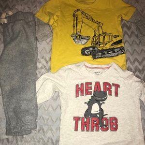 Boys shirts and pants bundle